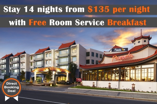 Stay for 14 Nights with Free Room Service Breakfast